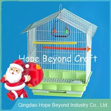 Pet cages large metal bird cage with stand