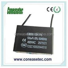 5uF CBB61 Capacitor 450V AC
