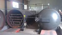 New design horizontal high pressure sterilizer mushroom farm machinery
