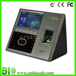 ZK Digital Wall Clock Cards Printing ID Popular Biometric Face/Fingerprint Time Attendance System (HF-FR402)
