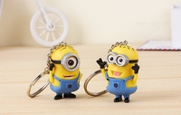 Christmas Gifts 2015 Key Chain Wholesale Minions Keychain