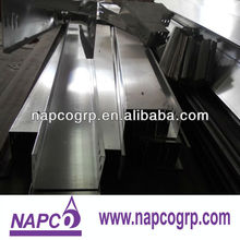 Aluminum alloy cable trays with cover