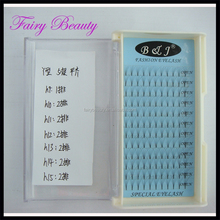 Hot Hair product black box real mink and lashes 2D, 3D, 4D, 5D, 6D 12 lines wholesale silk flat eyelash extensions