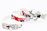 NEW Design Adjustable Dog Collar leather Pet Collar, Dog Mesh Collar