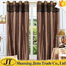 flocked curtain fabric ready made curtain window curtain