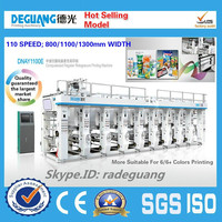 High quality automatic pe film gravure printing machine manufacturer