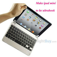 7.9'' Wireless Aluminum bluetooth keyboard Case Cover Stand For Apple iPad Mini