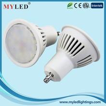 CE/RoHS/ETL Listed HIgh Quality AC110-230V/DC12V Dimmable GU10/GU5.3 SMD 5W LED Spotlight