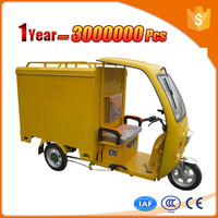 comfortable dry cell 60v loading 1000kg double axle electric cargo tricycle