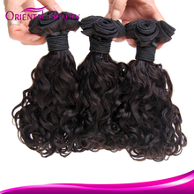 Hand implanted bundles hair fantastic continuous soft flip in hair extension raw virgin silver hair extensions