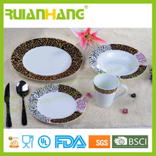 Antique style dinnerware sets ceramic, middle east dinnerware set