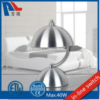 American Style Metal Table Lamp With Stainless Steel