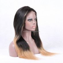 Top Quality # 30 Celebrity Virgin Beauty Virgin Brazilian Hair Full Lace Wig
