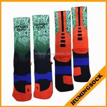 Basketball Polyester Sublimated Printed Socks