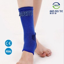2 X Knitted Elastic Ankle Brace Support Band Sports Gym Protects Therapy