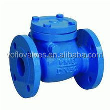 Class 125 Flange End Resilient Seated Swing Check Valve