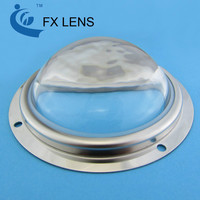 Optical COB LED Glass Lens for 30W 50W 100W High Power street light