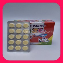 Dry Milk Candy Tablet