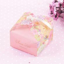 cheap paper pattern crown favor box