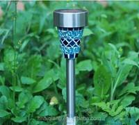 Best price high lumen mosaic solar garden light