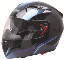 double visor flip up motorcycle helmet