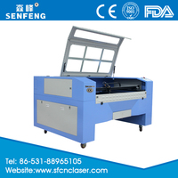 cnc architectural model laser wood cutting machine for plastic