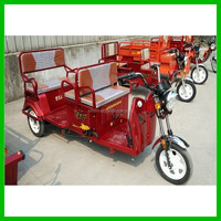 Battery Powered Electric Passenger Tricycle of City Cruiser