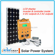 off grid 400w 12v solar system,portable home use