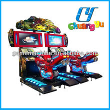 CY-RM001 Arcade video game motorcycle sidecar for sale of 32 LCD Maneuvering motor