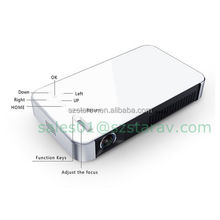 android quad-core 1G RAM dlp phone projector with wifi bluetooth