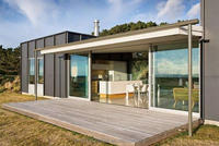 low cost prefab luxury container house