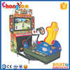 Coin Operated Driving Car Game Machine High Profit