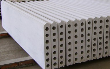 Precast Exterior 90mm Thickness 600mm Width Lightweight Concrete Wall Floor Panels