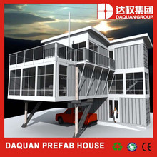 Promotion! DAQUAN low cost small prefab container houses modular container homes for sale