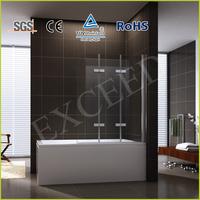 Folding shower bathtub screen/door EX-226