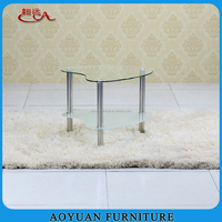 small glass coffee table tea table