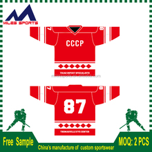 custom sublimation Club And Team Ice Hockey Jersey Team Wear