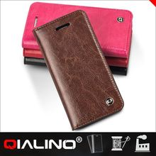QIALINO 2014 Lastest genuine leather case for cell phone cover