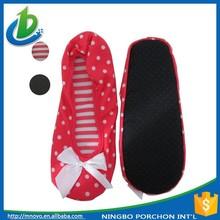 Trade assurance Wholesale lady dance ballet fold up shoes