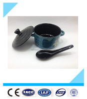 wholesale high quality decorative with spoon ceramic bowl
