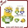 2015 wholesale toys mini Despicable Me usb stick memory