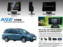 Quality Product Car Accessary AVE T100-SERIES Tire Pressure Mnitoring System TPMS for Mazda MPV minivan