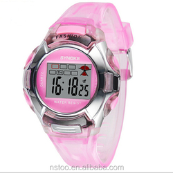 N99329 children watch rubber band 3 atm water resistant watch