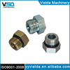 VISTDA High quality manufacturer , 6408 SAE o ring hydraulic hose fittings