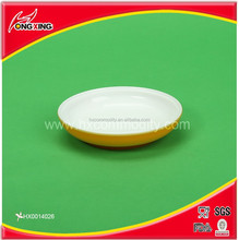 Hotsale colorful double wall snack dish pp small dish