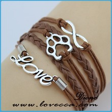 braided leather bracelet one direction