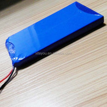 12v/11.1v 4000mah lithium polymer battery pack, lithium polymer battery factory direct delivery