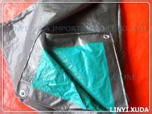 High strength green color swimming pool tarpaulin cover