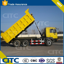 3 Axle widely used hydraulic cylinder dump scania Tipper Trailer parts For Sale