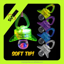 Multi Color Flashing Led Pacifier